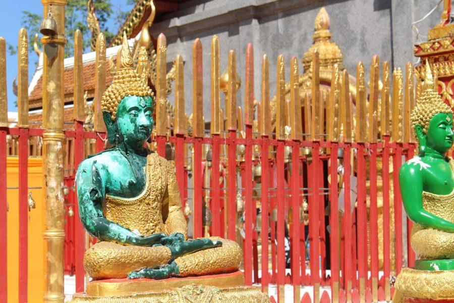 Une statue de Buddha en Thaïlande