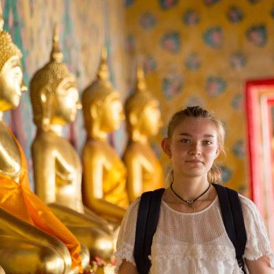 Thailande - jeune temple