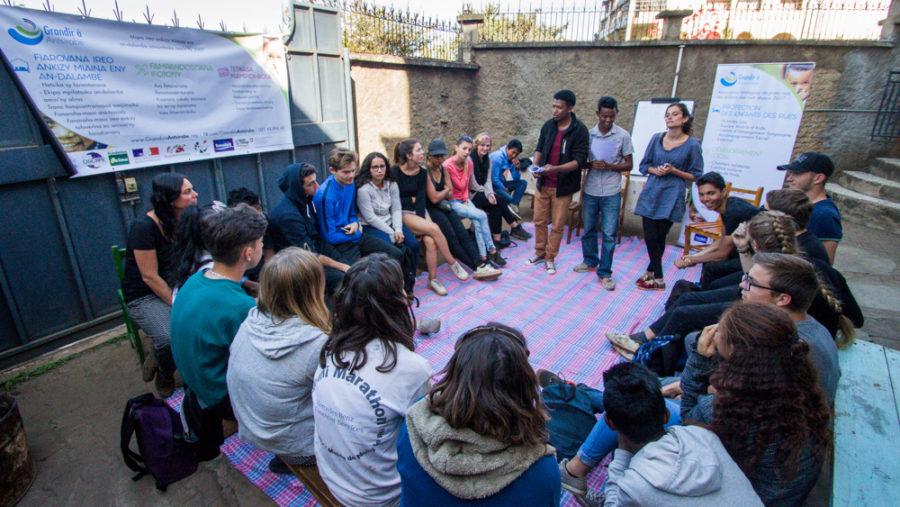 Madagascar : Atelier de sensibilisation sur l'enfance des rues