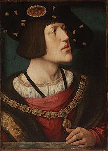 Barend van Orley - Charles V