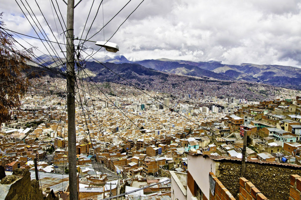 Bolivie - Vue sur La Paz