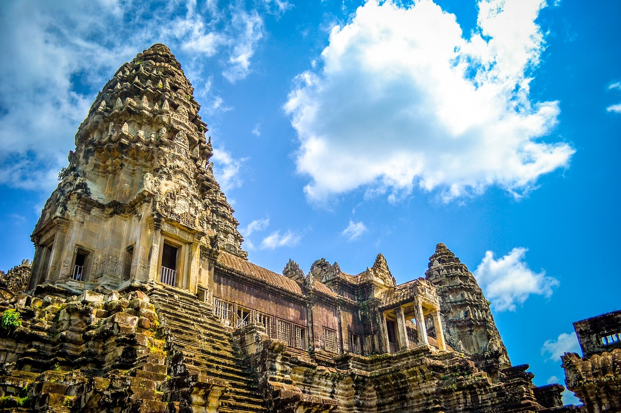 Cambodge - Angkor temple