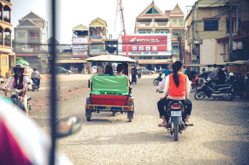 Cambodge - Siem Riep transport