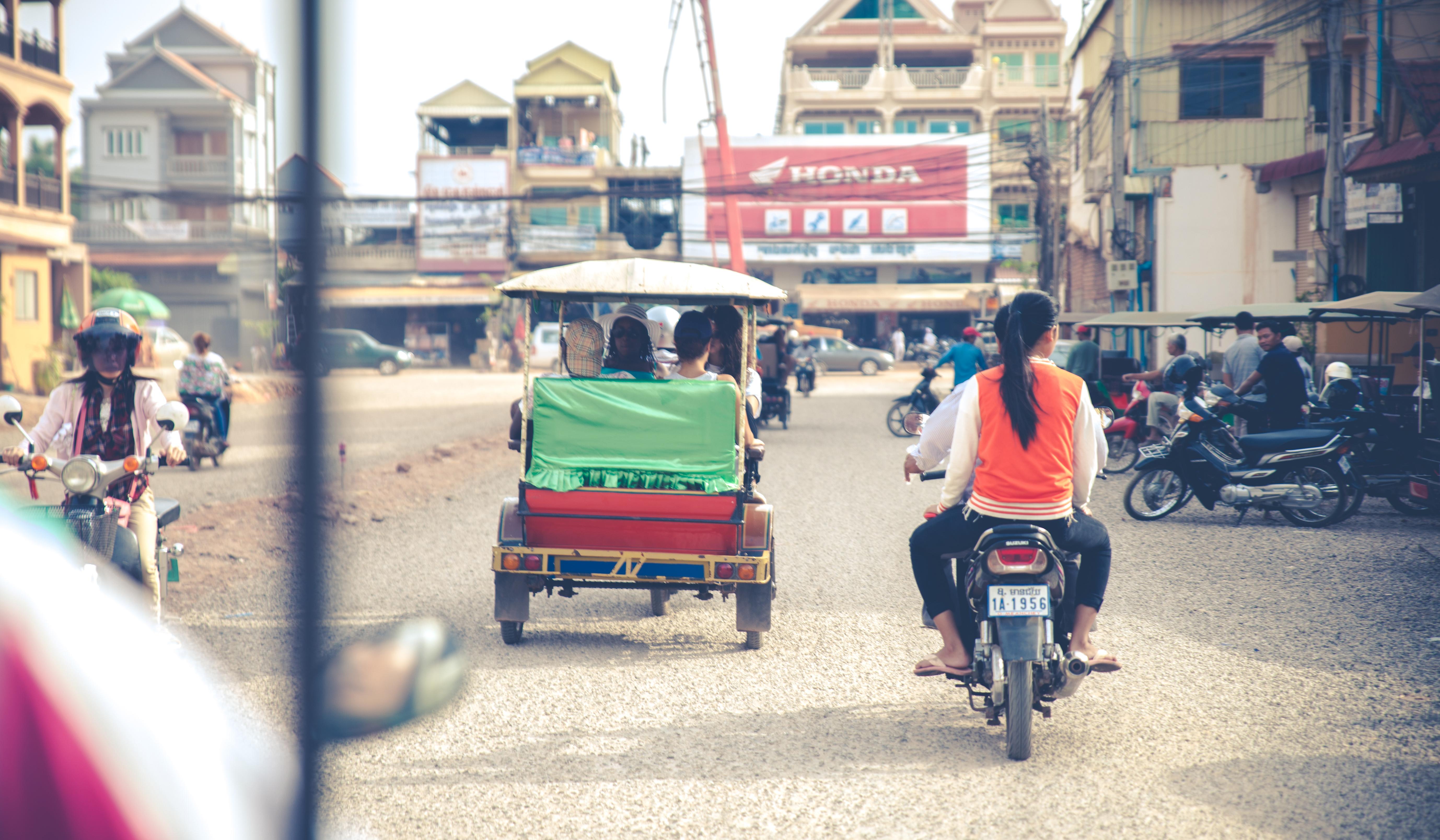 Cambodge - Ville