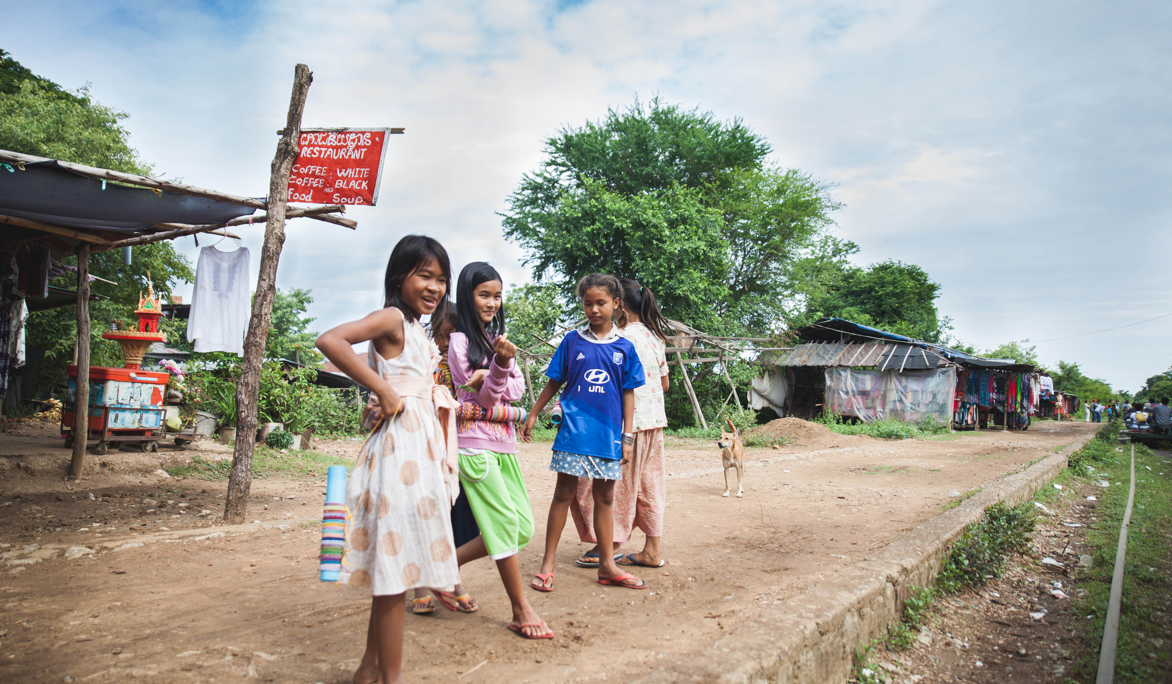 Cambodge - jeunes filles