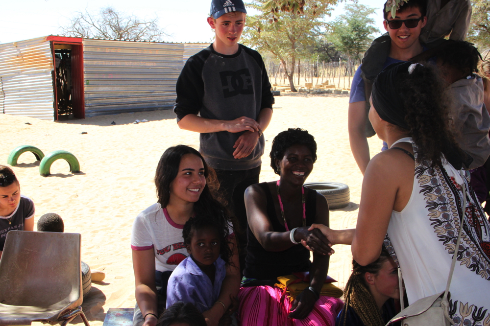 Namibie - Rencontre