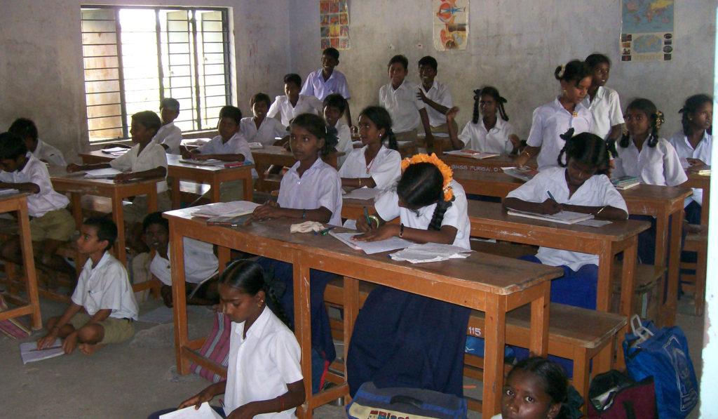 Inde - Classe de filles