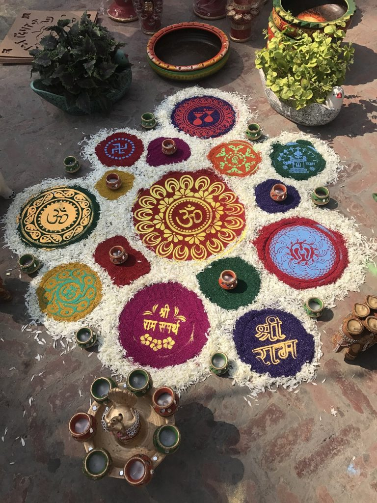Inde - New Delhi art