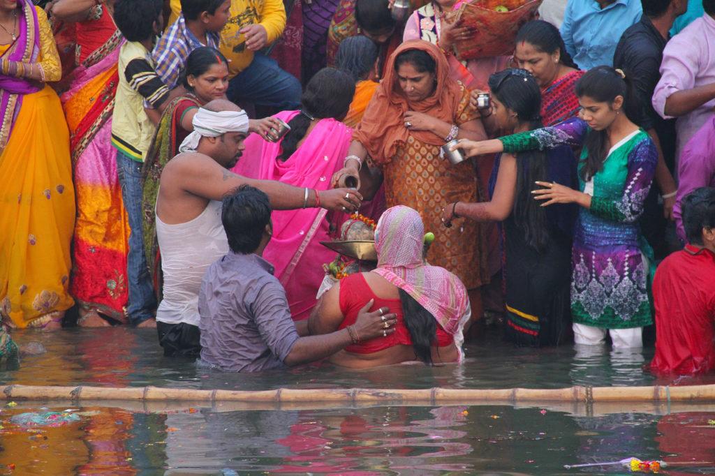 Inde - Varanasi rituel religieu