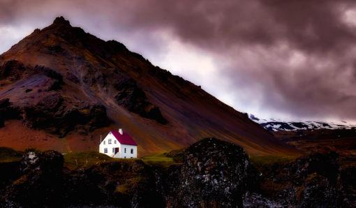 Islande - paysage maison