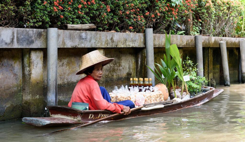 Bangkok - Marché flottant