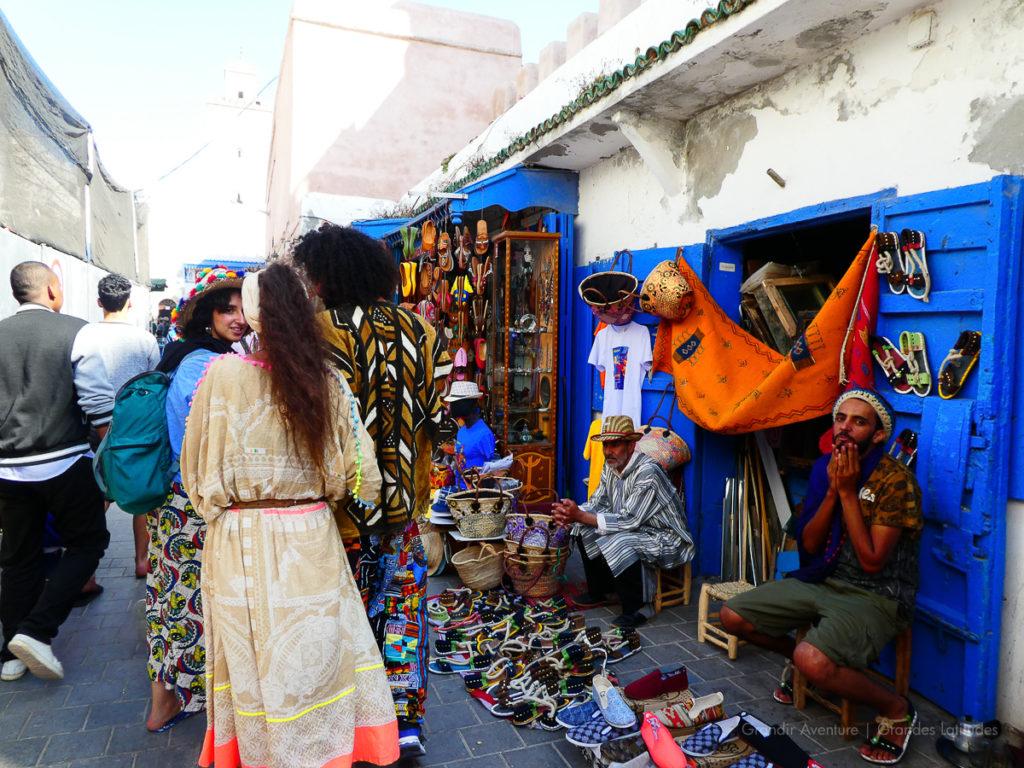 Maroc - Essaouira, le souk 4