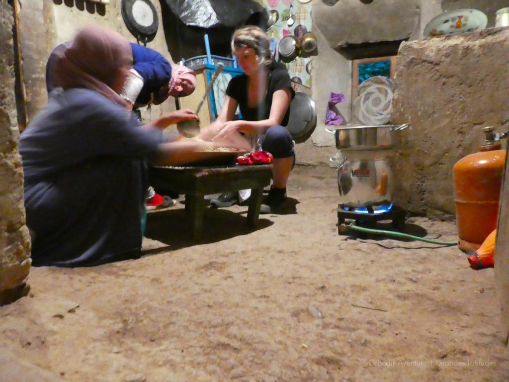 Maroc - R'bat, cours de couscous 2