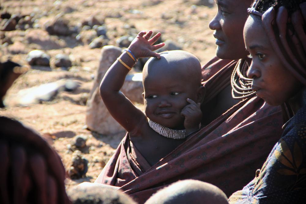 Namibie - les villageois de Ruacana