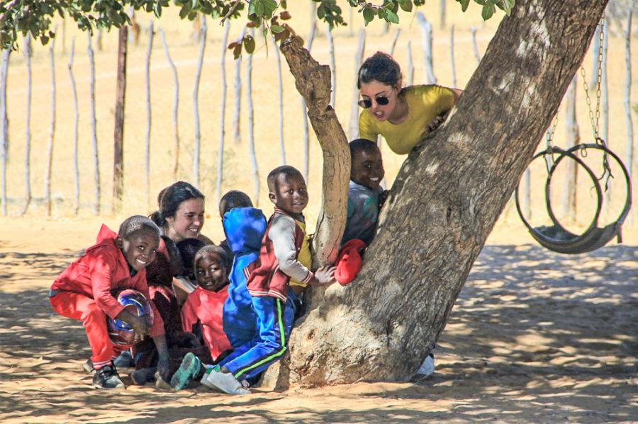Namibie - village de Ruacana 6 retouch