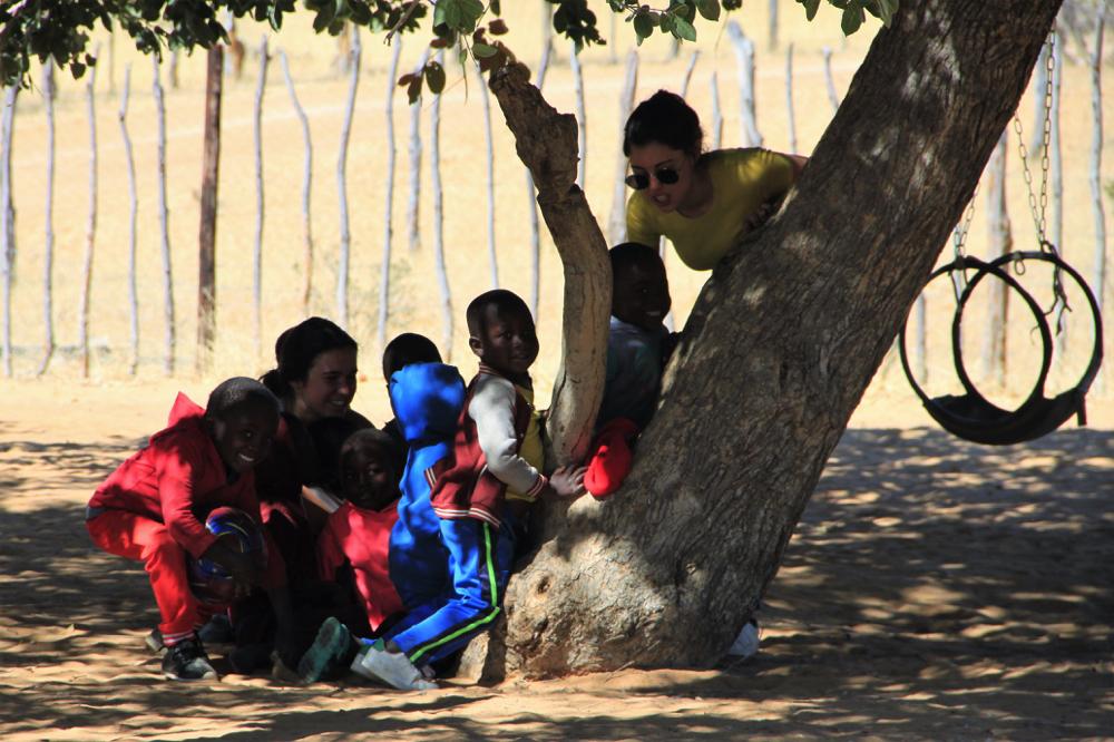 Namibie - village de Ruacana 6