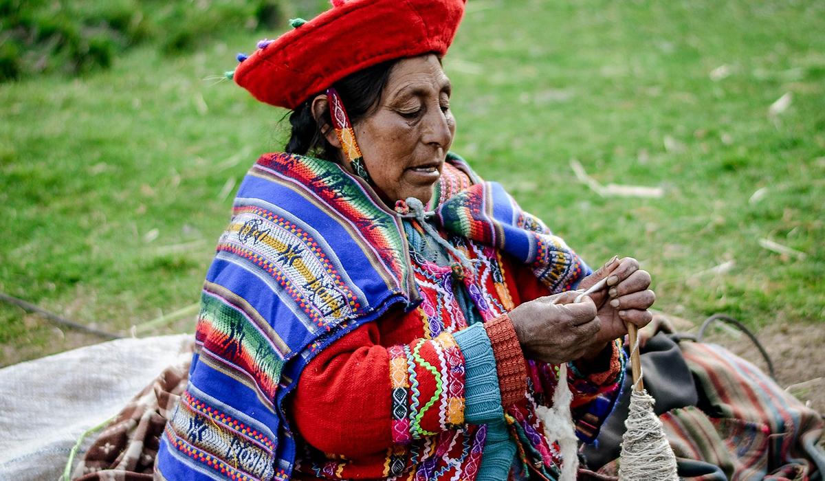 Le Pérou - femme