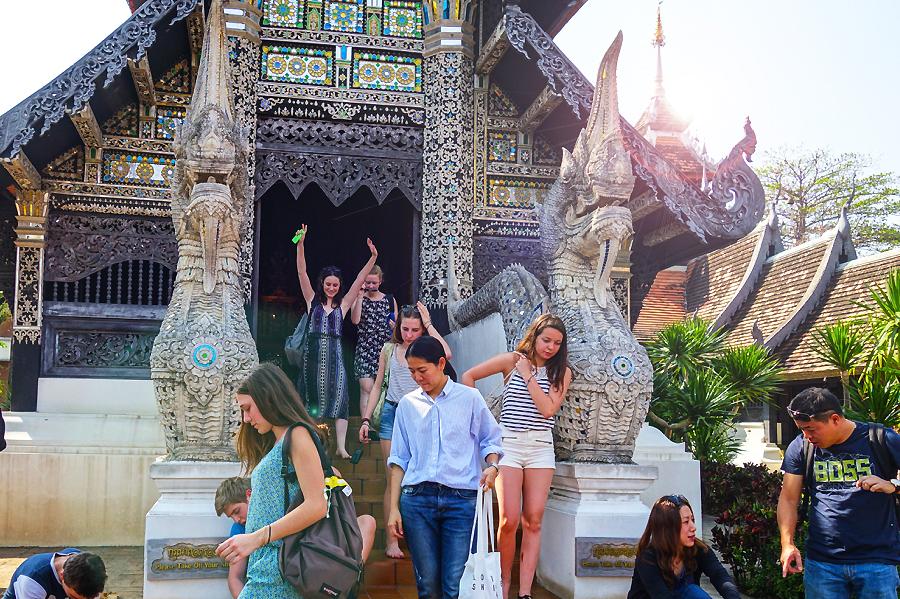 Thailande - Temple à Chiang mai