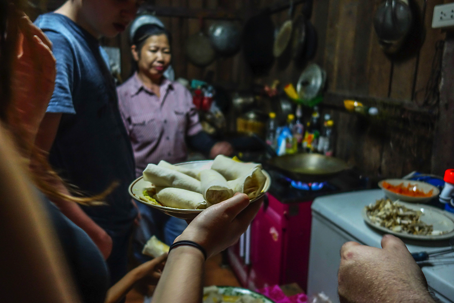 Thailande - en cuisine Thung Luang