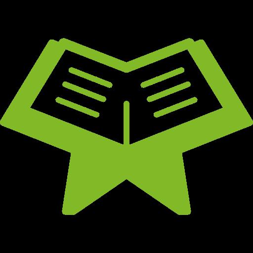 icon book vert