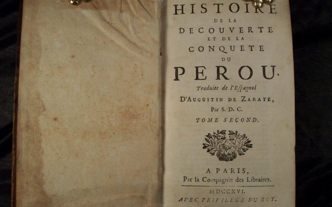 Histoire du Pérou 2/5 : La conquête du Pérou par Francisco Pizzaro