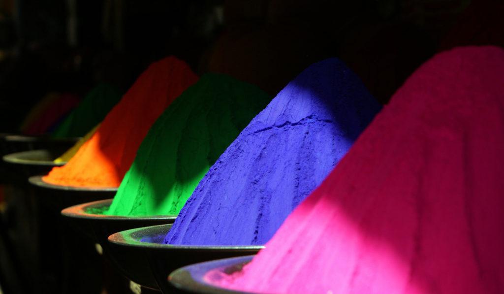 poudre couleur inde