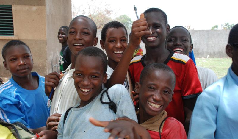 Sénégal - Jeunes sénégalais