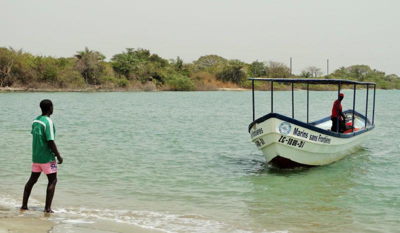 Sénégal - bâteau mer