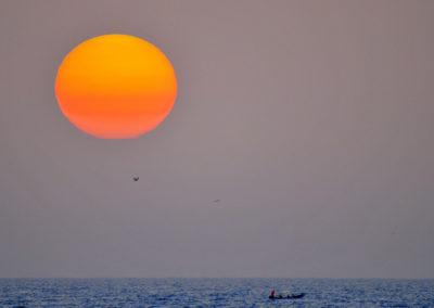 Sénégal - coucher de soleil