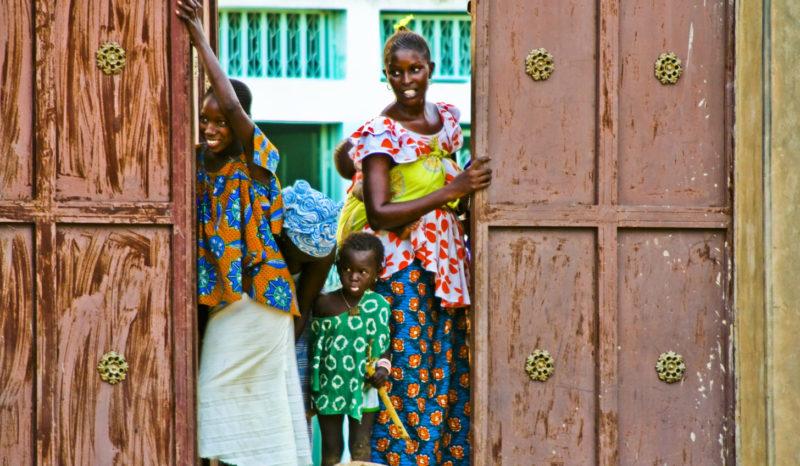 Sénégal - portes qui s'ouvrent