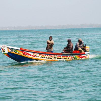 Senegal - bateau