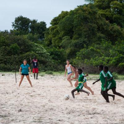 Sénégal - partie de foot