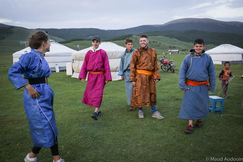 Mongolie - deel fabrication