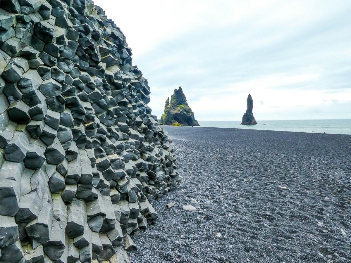 Islande - Plage de sable noir Vik