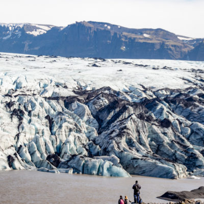 Islande - glacier Sólheimajökulll