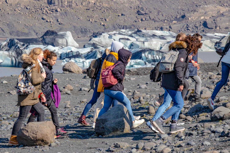 Islande - glacier Sólheimajökull