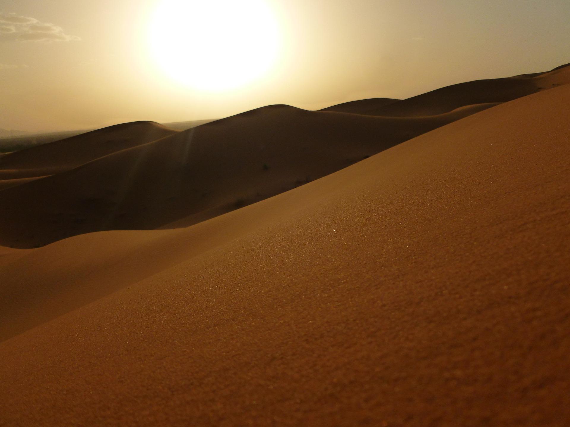 Maroc - Dune de l'Erg chebbi