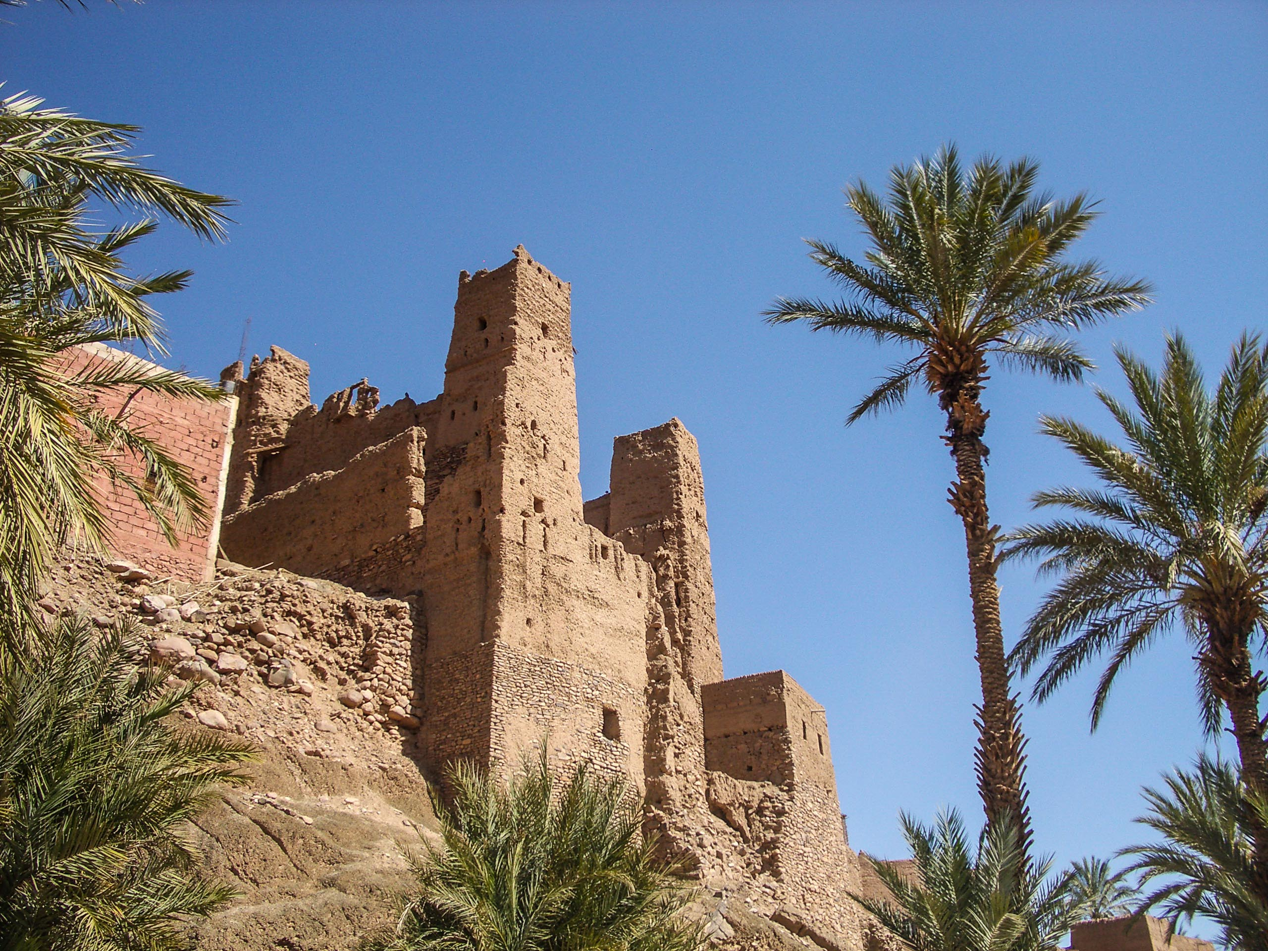 Maroc - vallee du draa, Casbah