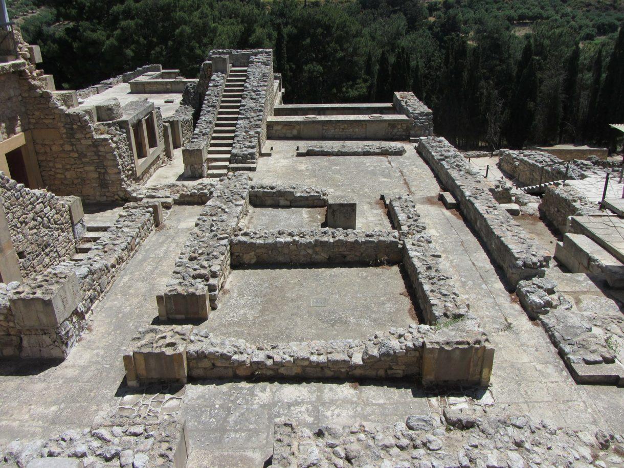 Crète - Knossos, ruines (Pixabay) 2