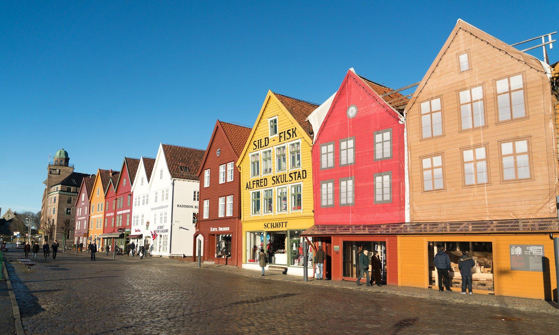 Norvège - Bergen (Pixabay) 2